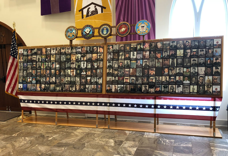 Image link to St. Anna's Wall of Honor Project